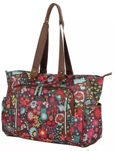 Details About Lily Bloom Satchel One Size Playful Garden Collection M5243 02 Tt Retail 120