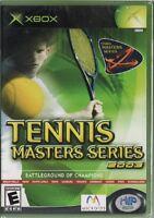 Tennis Masters Series 2003 (xbox) Sealed