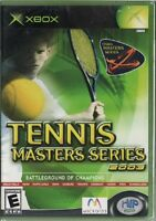 Tennis Masters Series 2003 (xbox) Sealed