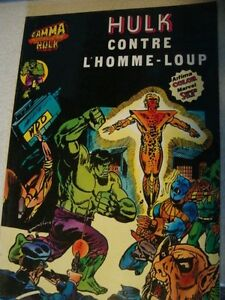 Hulk-N-10-Hulk-contre-l-039-Homme-Loup-Aredit-Marvel-Comics-1980-BE