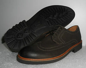 brogue Mens scarpe g Wing Walton Clark stringate in marrone 7 pelle taglia Uk 0tqdq7
