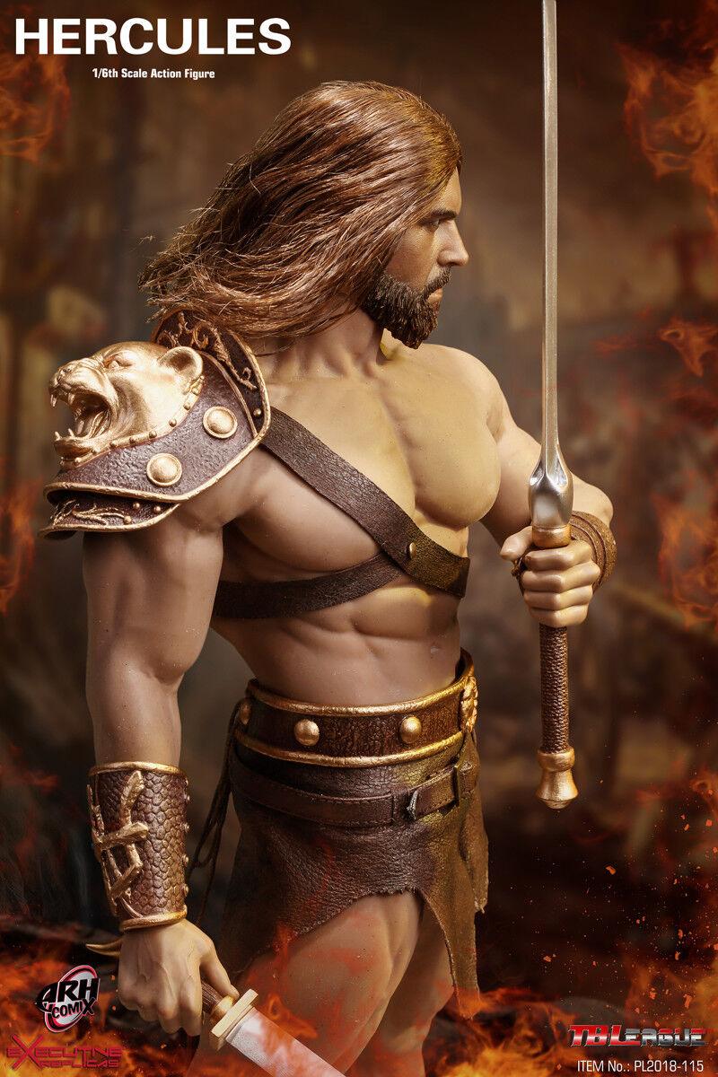 16 Phicen Tbleague Seemless Músculo Cuerpo hijo de Zeus-Hércules