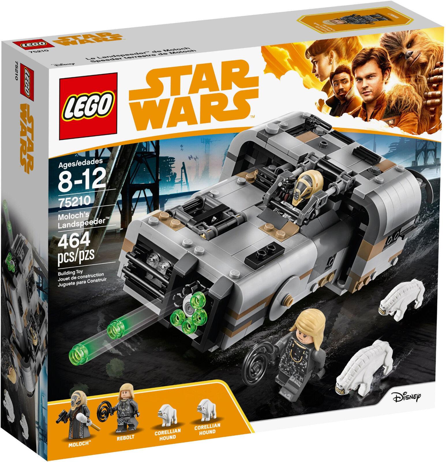 Lego Star Wars - 75210 Moloch's Landspeeder avec rebolt-NOUVEAU & NEUF dans sa boîte | Apparence Attrayante