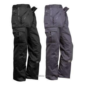 Workwear-accion-Pantalones-Rodilleras-bolsillos-multiples-bolsillos-con-cremallera-Pantalones-26-034
