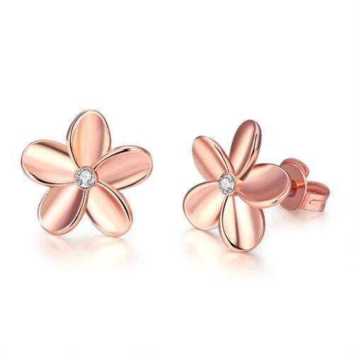 Wholesale 18K Gold Filled Lovely Flower post Studs earrings