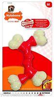 Nylabone Dura Chew Dog Chew Toys Dog Chew Bones Bacon Dog Supplies Medium