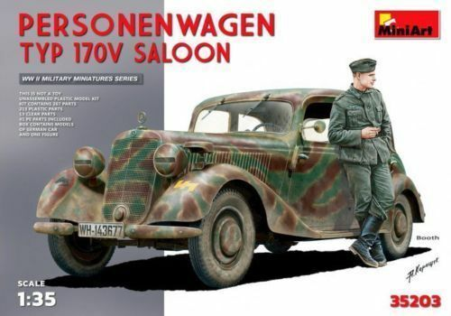 MINIART 35203 1 35 Personenwagen T yp 170V Saloon. (Special Edition) NEW