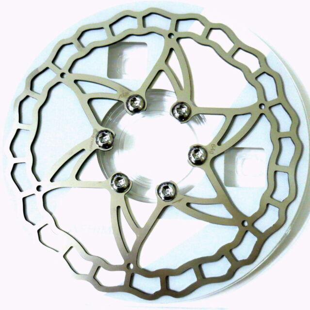 64//73//104g Silver The Lightest ASHIMA Ai2 Bike Brake Rotor 140//160//180mm