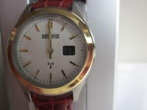 Eurochron dames horloge +DCF radio synchronisatie, analoog + datum