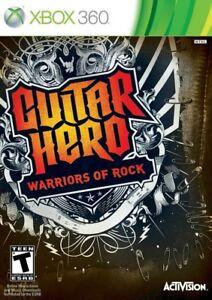 Guitar Hero: Warriors of Rock - Xbox 360 Game 47875961487