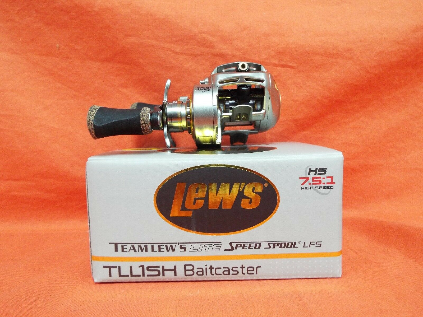 LEW'S MGF Lite Speed Spool Baitcast Reel Gear Ratio 7.5 1 TLL1SH