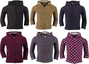 F-amp-F-Boys-Girls-Kids-Childrens-Hoodies-Fleece-Top-Soft-Polyester-Warm-Jacket