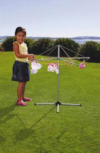 ORBIT Metal Clothes Line Kids Hills Hoist Washing Play