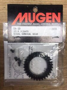 VERY RARE VINTAGE RC CAR 1//8 MUGEN  Sport /& Supersport STEEL CONICAL GEAR SA-3D