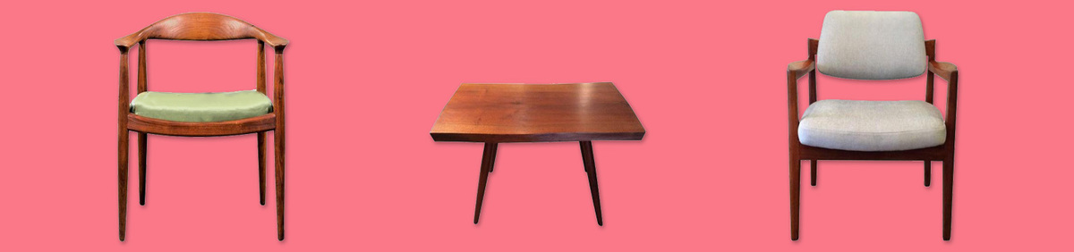 Shop Event Antique Tables & Chairs  Curated selection of accent furniture.