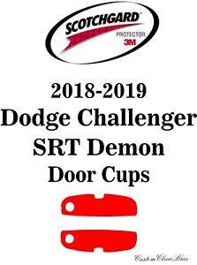 Details About 3m Scotchgard Paint Protection Film Pre Cut 2018 2019 Dodge Challenger Srt Demon