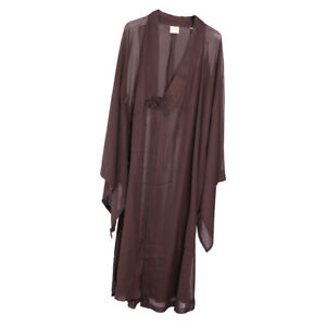 f7ed6ce998 Details about Zen Buddhist Meditation Haiqing Robe Kung Fu Gown Shaolin  Monk Suit Robe