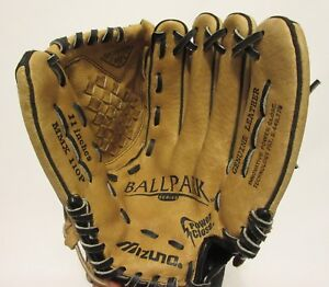 Mizuno-11-034-MMX-110P-Power-Close-Baseball-Glove-Ballpark-Series-Leather-Mitt-RHT