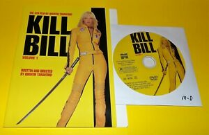 Kill-Bill-Vol-1-Excellent-DVD-DISC-amp-COVER-ART-ONLY-NO-CASE-Free-Shipping