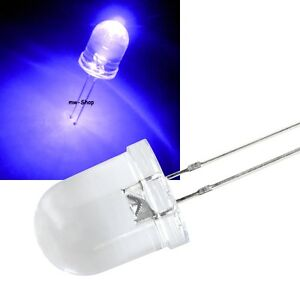 10-UV-Leds-10mm-Incl-Resistencia-Ultravioleta-Luz-Negra-LED-Diodo-Emisor-de