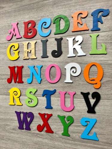 Personalised Script Wooden Name Plaques Words//Letters Wall//Door Art//craft words