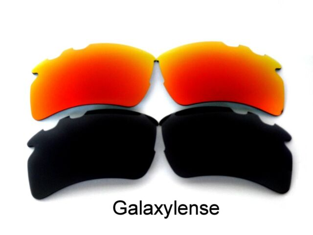 a84a5dfb2e Galaxy Replacement Lenses For Oakley Flak 2.0 XL Vented Sunglasses Black Red