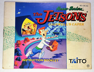 JETSONS-COGSWELL-039-S-CAPER-MANUAL-ONLY-NO-GAME-INCLUDED-NINTENDO-NESM009