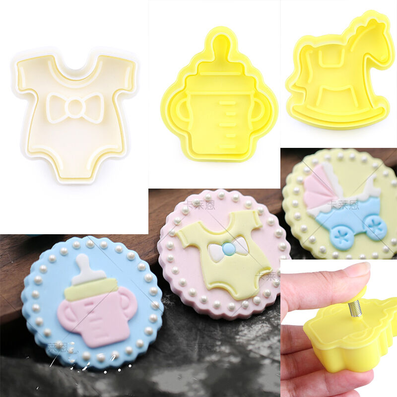 Cake Decorating Baby Mould : Baby Theme Cake Plunger Cutter Mould Cookie Paste Cake ...