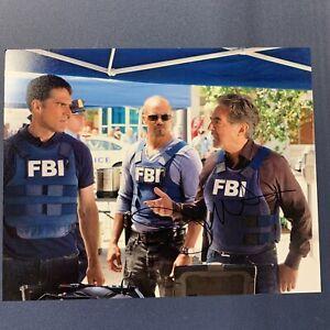 JOE-MANTEGNA-HAND-SIGNED-8x10-PHOTO-ACTOR-AUTOGRAPHED-CRIMINAL-MINDS-RARE-COA