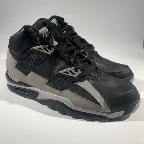 Nike 302346-013 Men AIR Trainer SC HIGH Black/Medi