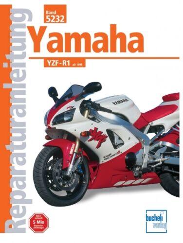 Yamaha YZF R1 ab 1998 Reparaturanleitung Reparatur-Handbuch Reparaturbuch Buch