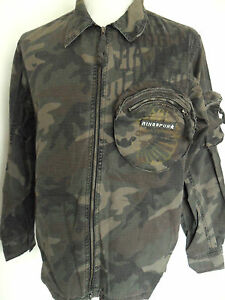 RINGSPUN-Mens-Army-Style-Camouflage-Shirt-Kill-Long-
