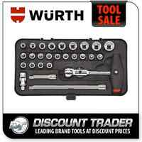 Wurth 1/4 Socket Wrench Assortment Set 0965014050