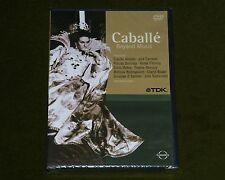 MONTSERRAT CABALLE BEYOND MUSIC DOCUMENTARY LIVE CONCERT OPERA TDK DVD New