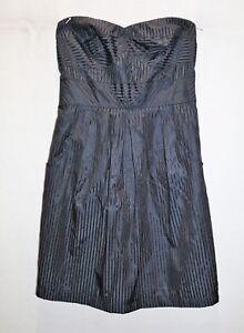 Details about Dotti Brand Black Strapless Front Pockets A Line Dress Size 8 BNWT #SM79