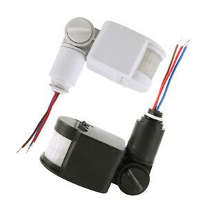 DC12V-automatique-infrarouge-PIR-detecteur-de-mouvement-capteur-LED-lumiere