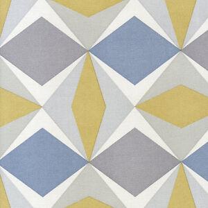 51144002 skandinavia geometric blue grey amp yellow
