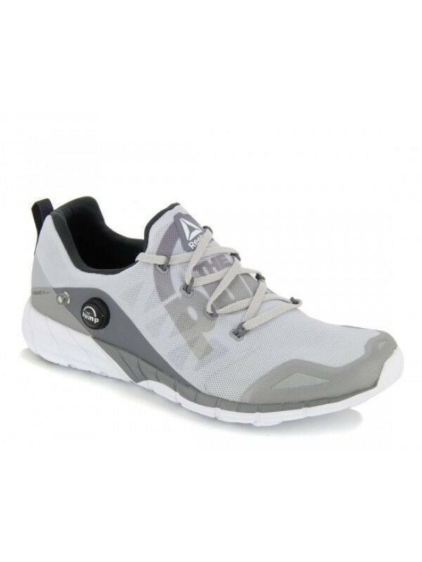 Nuevo Para hombres Reebok Crossfit zpump Fusion 2.0 ele Running zapatos gris Zapatillas