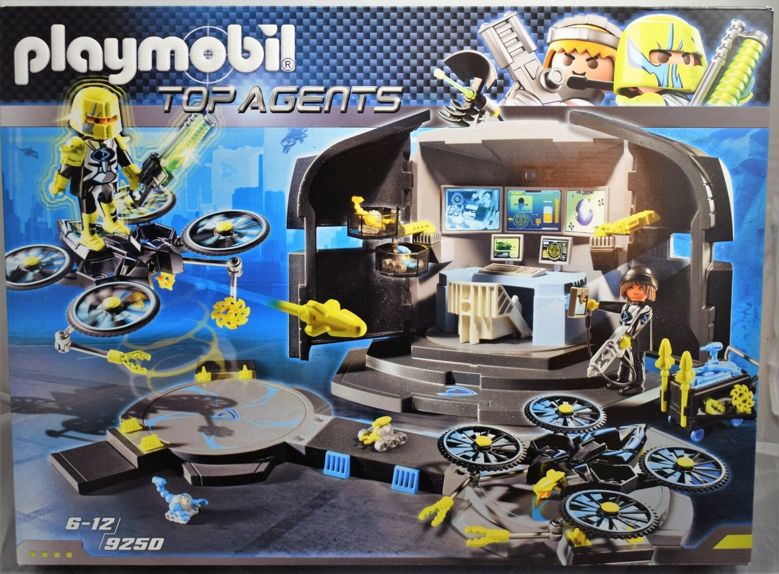 Playmobil Top Agents 9250 Dr. Drone's Command Center