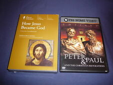 Teaching Co Great Courses DVDs           HOW JESUS BECAME GOD       new+ BONUS