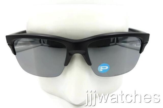 60da578047c New Oakley Thinlink Matte Black Iridium Polarized Sunglasses OO9317-05  179
