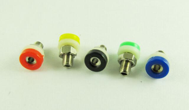 5x Banana Socket Jack For 2mm Mini Banana Plug Receptacle Binding Post 5 Colors