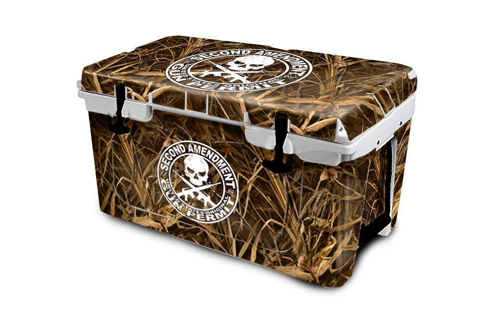 USATuff Cooler Wrap Decal 'Fits New Mold' RTIC 65QT FULL 2nd Wing Camo