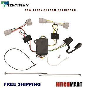 fits 2005 2015 toyota tacoma trailer hitch wiring 4 way t connector 2014 toyota tacoma trailer wiring image is loading fits 2005 2015 toyota tacoma trailer hitch wiring