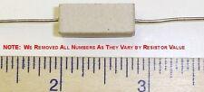 5 x .22 Ohm 5 Watt 5% Wire Wound Cermet Sandblock Resistor Free US Shipper