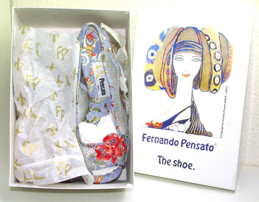 Designer Damen Sandalette Fernando Pensato versch. Größen NEU OVP vom Händler