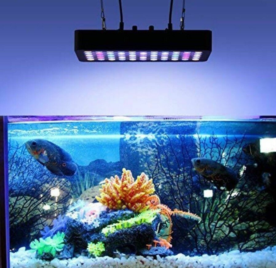 Dimmable 165W  Full Spectrum 2 Ch Led Aquarium Light From LightTime Tunnel