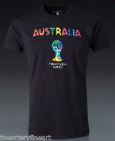 Romero Britto X Fifa World Cup Brazil 2014 Australia Ed. T-shirt L 3/15