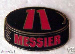 Mark-Messier-NHL-Hockey-Puck-Collector-Pin-Rangers