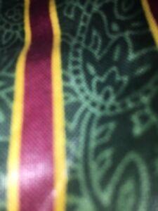 Longaberger-Santa-s-Dash-Away-Basket-Liner-Imperial-Stripe